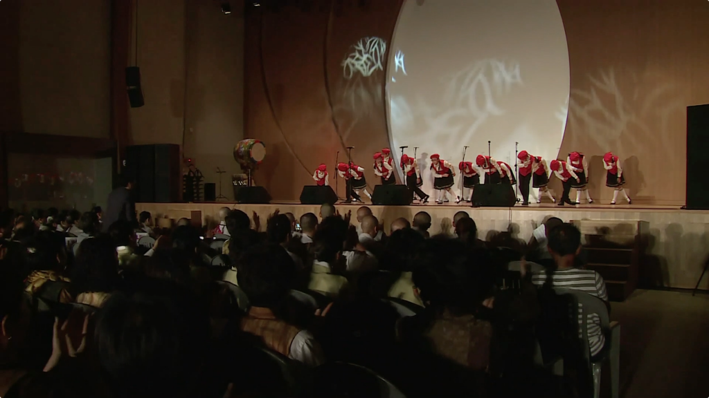 불교천태중앙박물관 개관1주년 전야음악제 합창 어린이 합창단